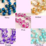 Colourful Rosaries with Letter Charm in Christmas Gift Box | Heavens Blessings